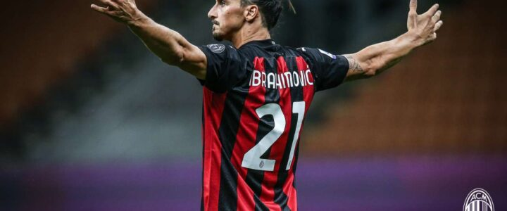 Rekor Positif Dari Pesepakbola AC Milan, Zlatan Ibrhimovic